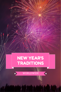 New Year's interesting traditions from all over the world