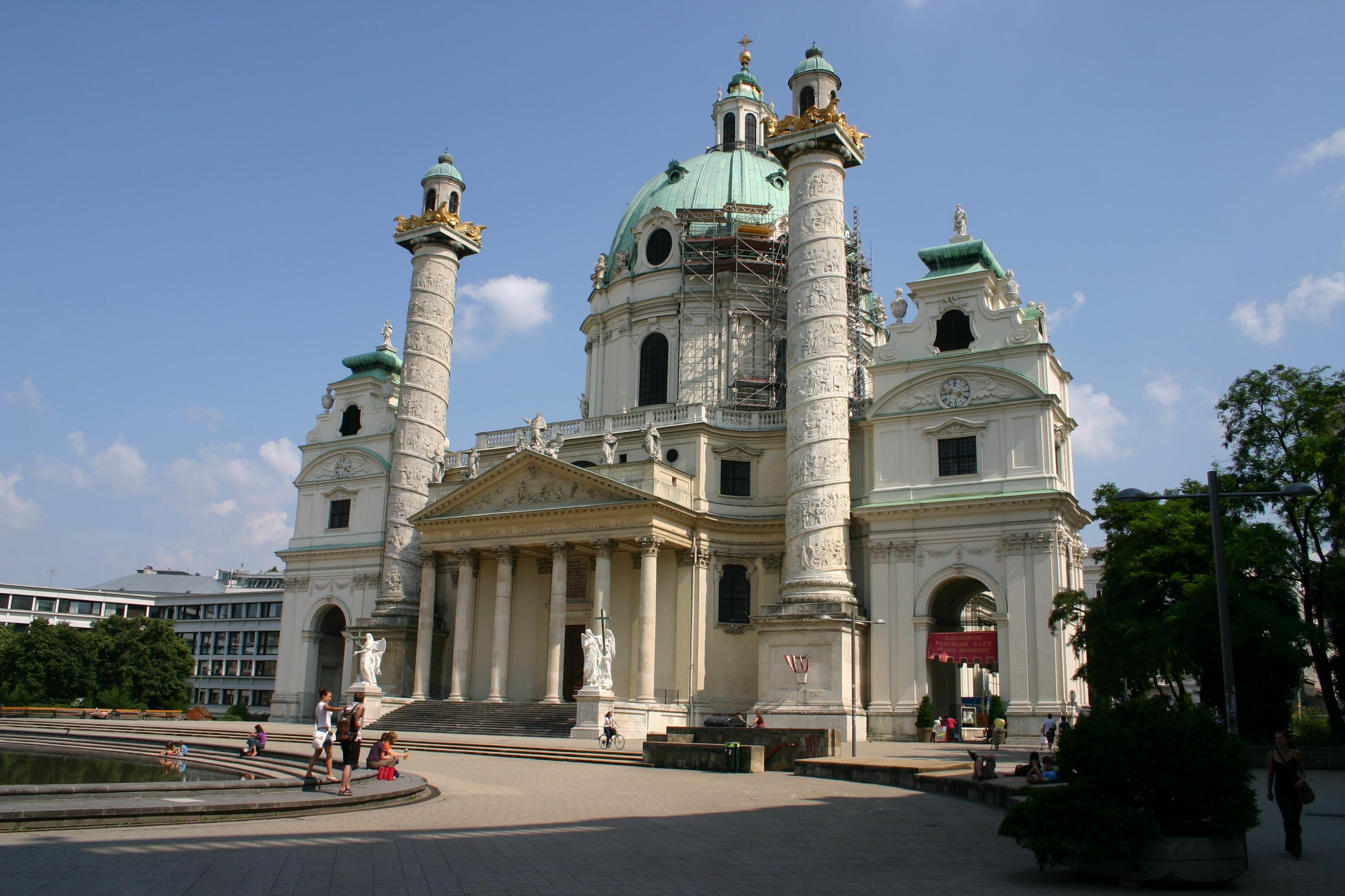 Karlskirche – a special place in #Vienna