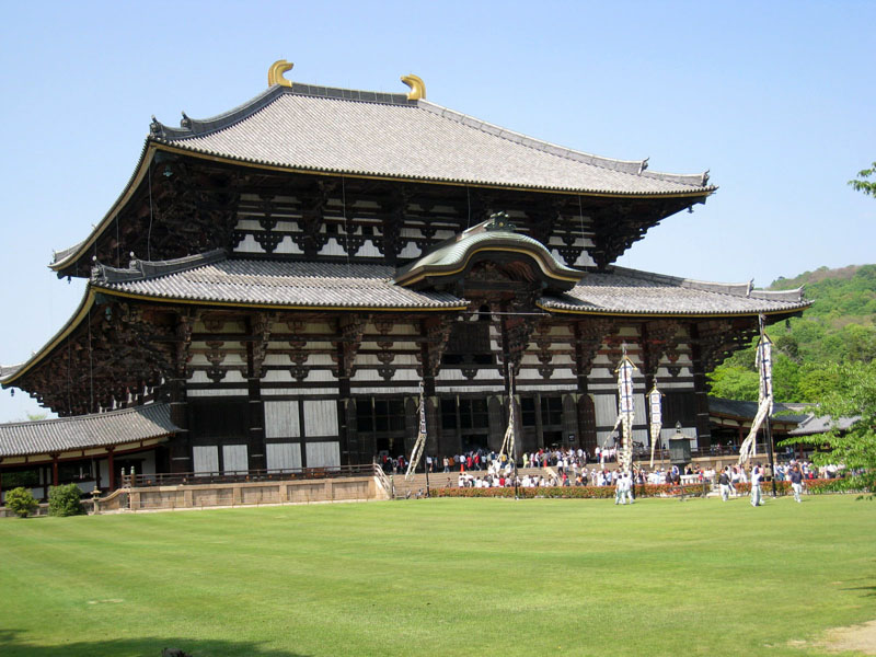 Todai-ji Temple, Nara is one of the best places to visit in Nara, Japan