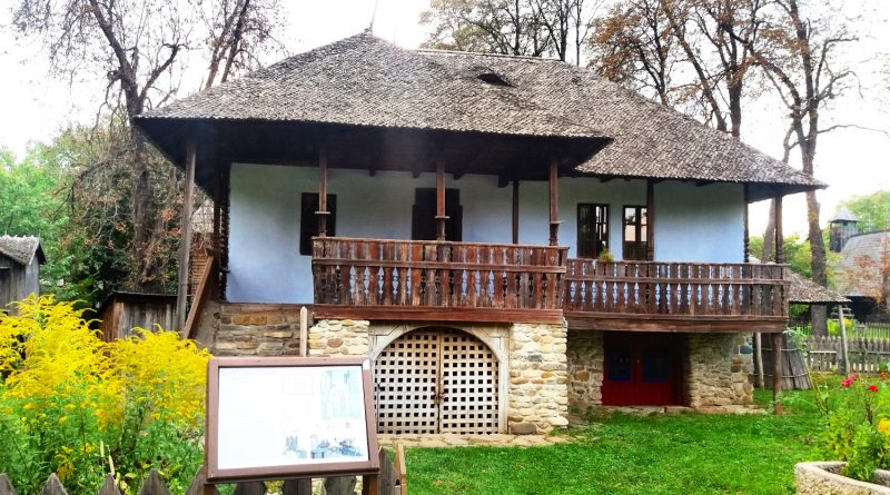 The house on the 10 Lei bill - the Village Museum Bucharest