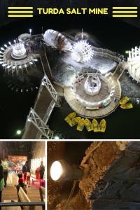 Turda Salt Mine - an impressive place near Cluj-Napoca, Romania