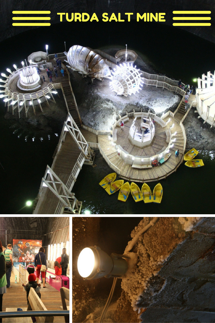 Turda Salt Mine - an impressive place near Cluj-Napoca, Romania