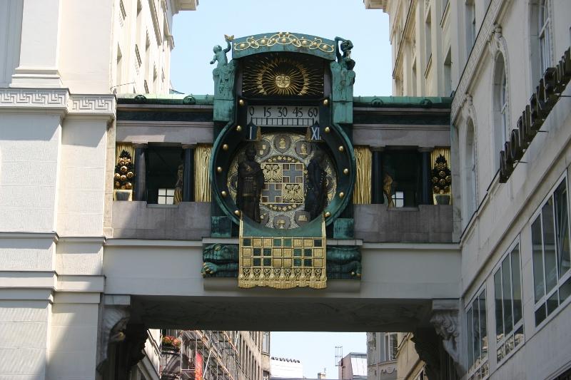 Anker Uhr- XII-I, Wien, Osterreich