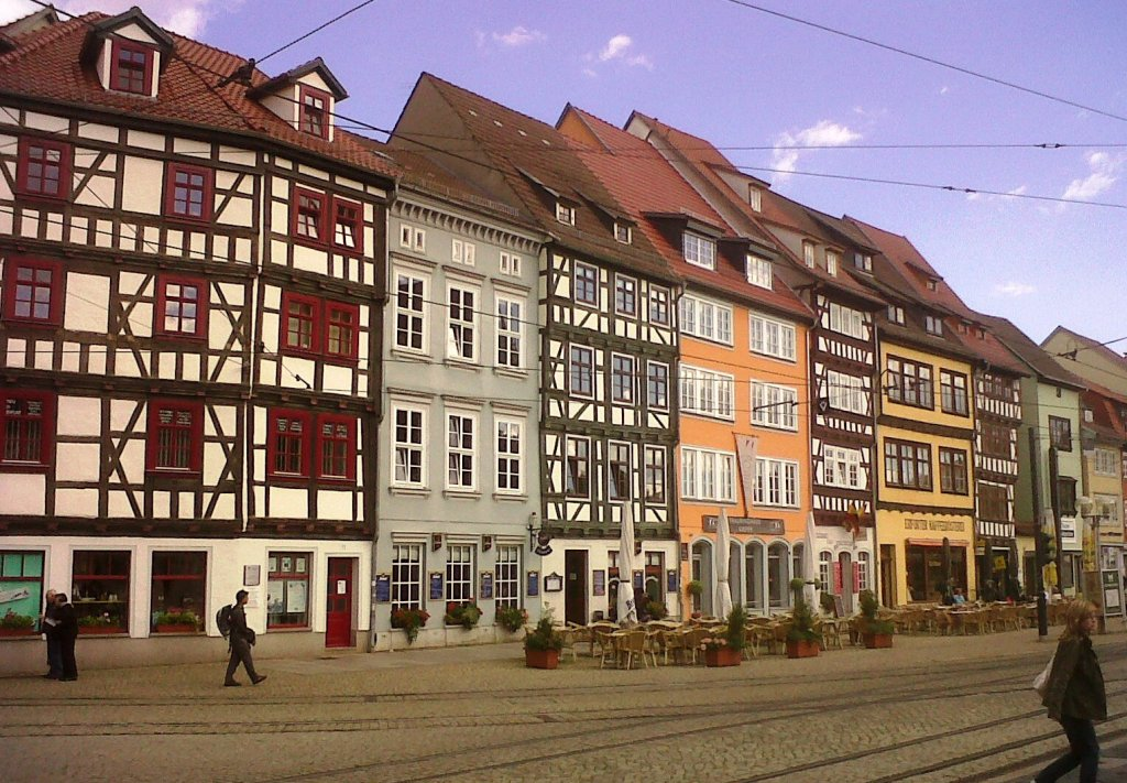 Erfurt One Of The Prettiest German Town Worth A Detour