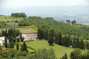 Villa Campestri outside