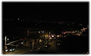 Ybor City lights - night