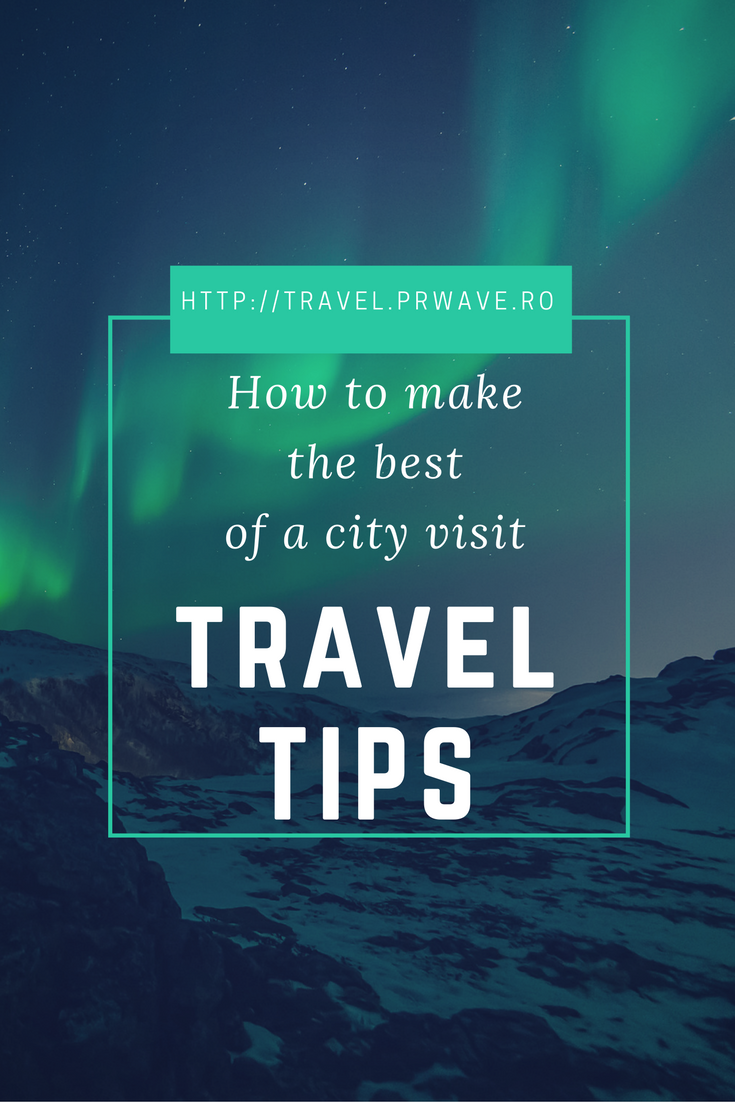 How to make the best of a city visit: #travel #tips - money, accommodation, transportation, shopping etc.