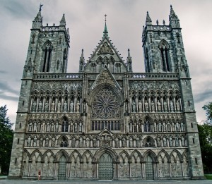 Nidaros Cathedral West Front