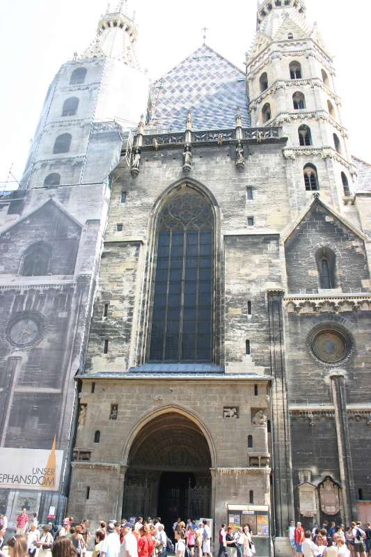 Stephansdom - entrance
