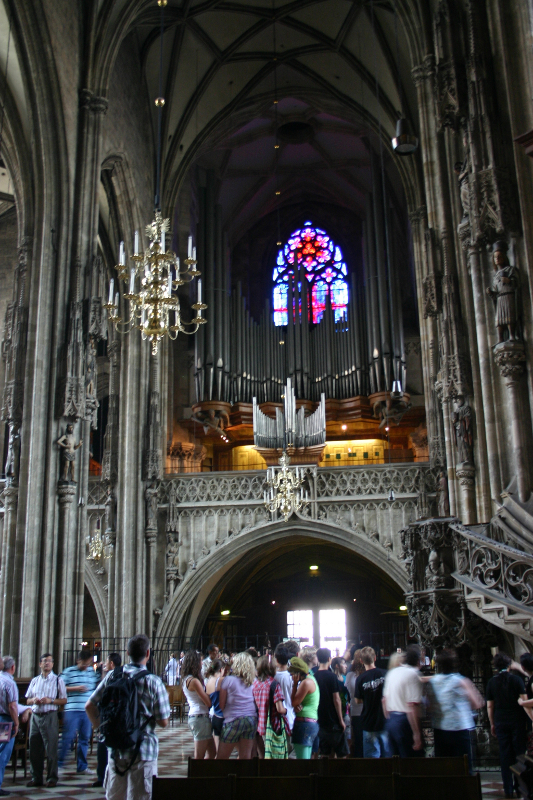 Stephansdom - interior