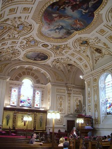 Great Witley Church interior