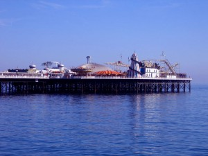 Brighton Pier carousel, UK