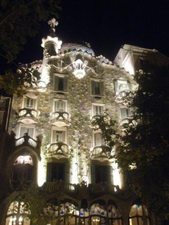 Casa Batllo by Night