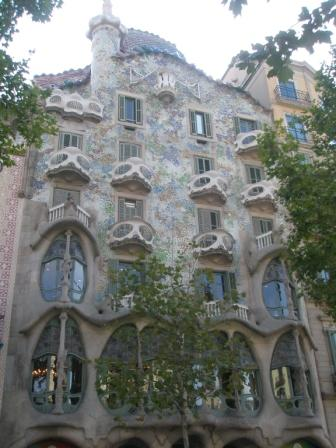Casa Batllo by day