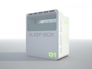 Sleepbox exterior