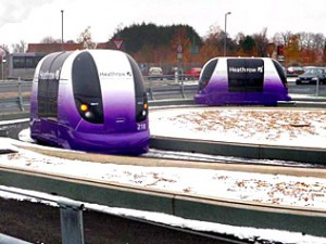 Heathrow Airport pods