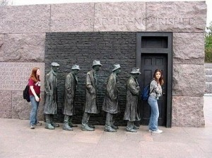 Roosevelt Memorial - Washington DC
