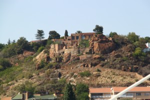 Johannesburg, South Africa - House in the mountain