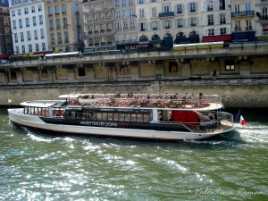 Boat on the Seine 2