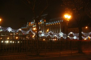 Christmas in Bucharest 2011 - court