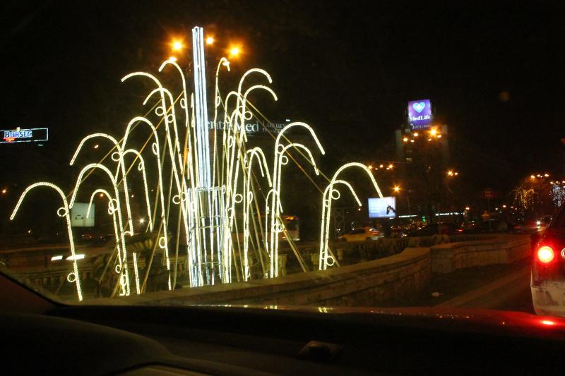 Christmas in Bucharest 2011 - decoration