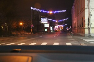 Christmas in Bucharest 2011 - road 10