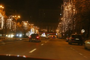 Christmas in Bucharest 2011 - road 2