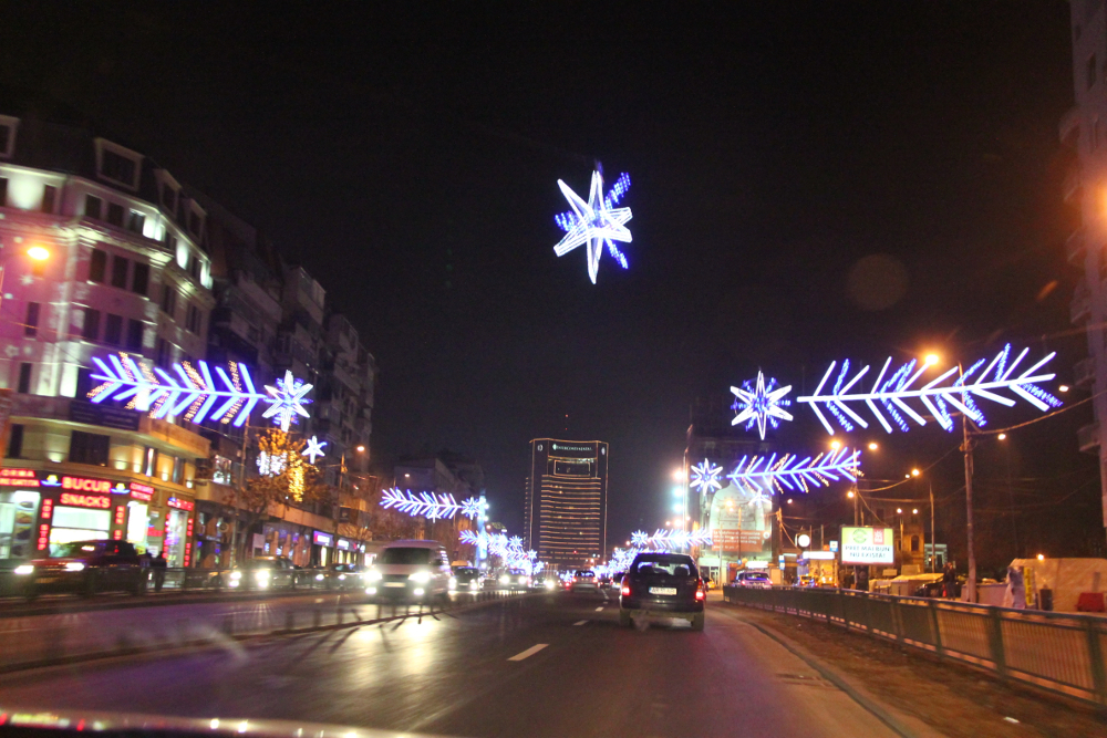 Christmas in Bucharest 2011 - road 3