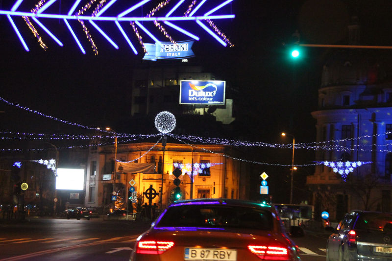 Christmas in Bucharest 2011 - road 5