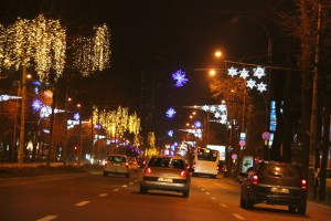 Christmas in Bucharest 2011 - road 6