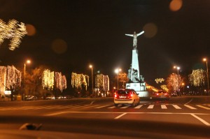 Christmas in Bucharest 2011 - road 8