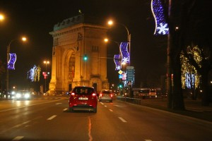 Christmas in Bucharest 2011 - road 9