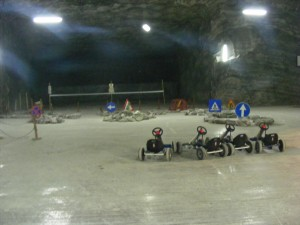 Ocnele Mari Salt Mine Karting