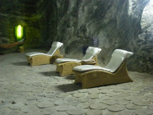 Ocnele Mari Salt Mine Massage