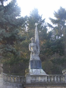 Romanian War of Independence monument built in 1915