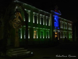 Ramnicu Valcea City Hall green