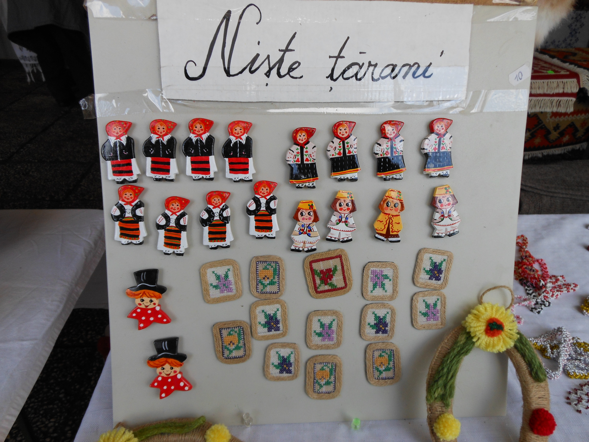 Romanian Traditional Magnets