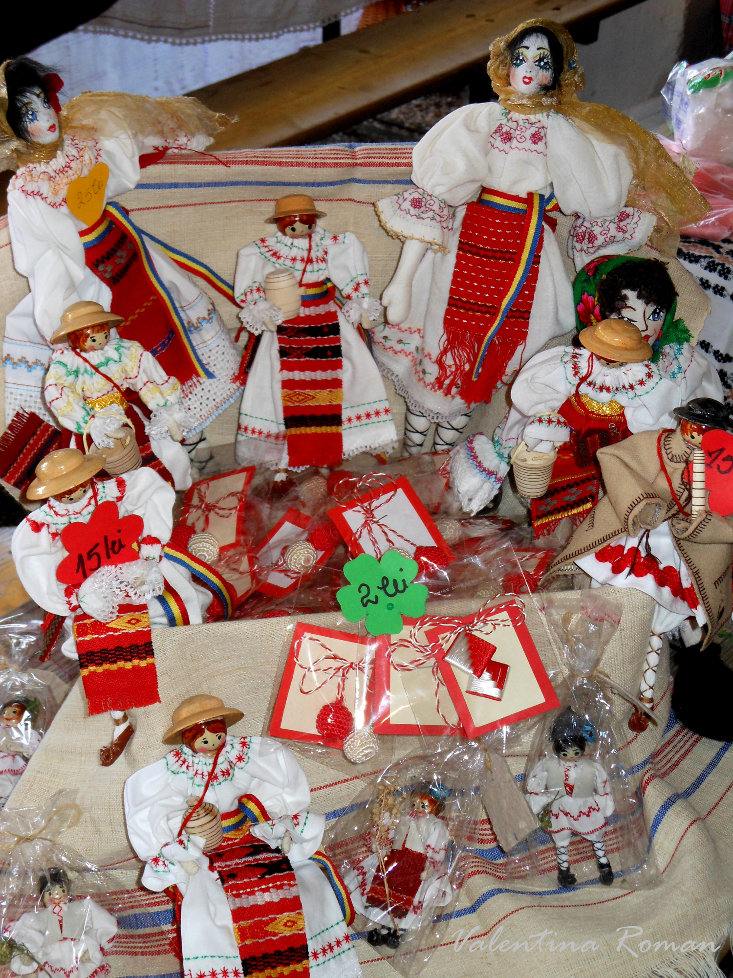 Romanian Traditional dolls