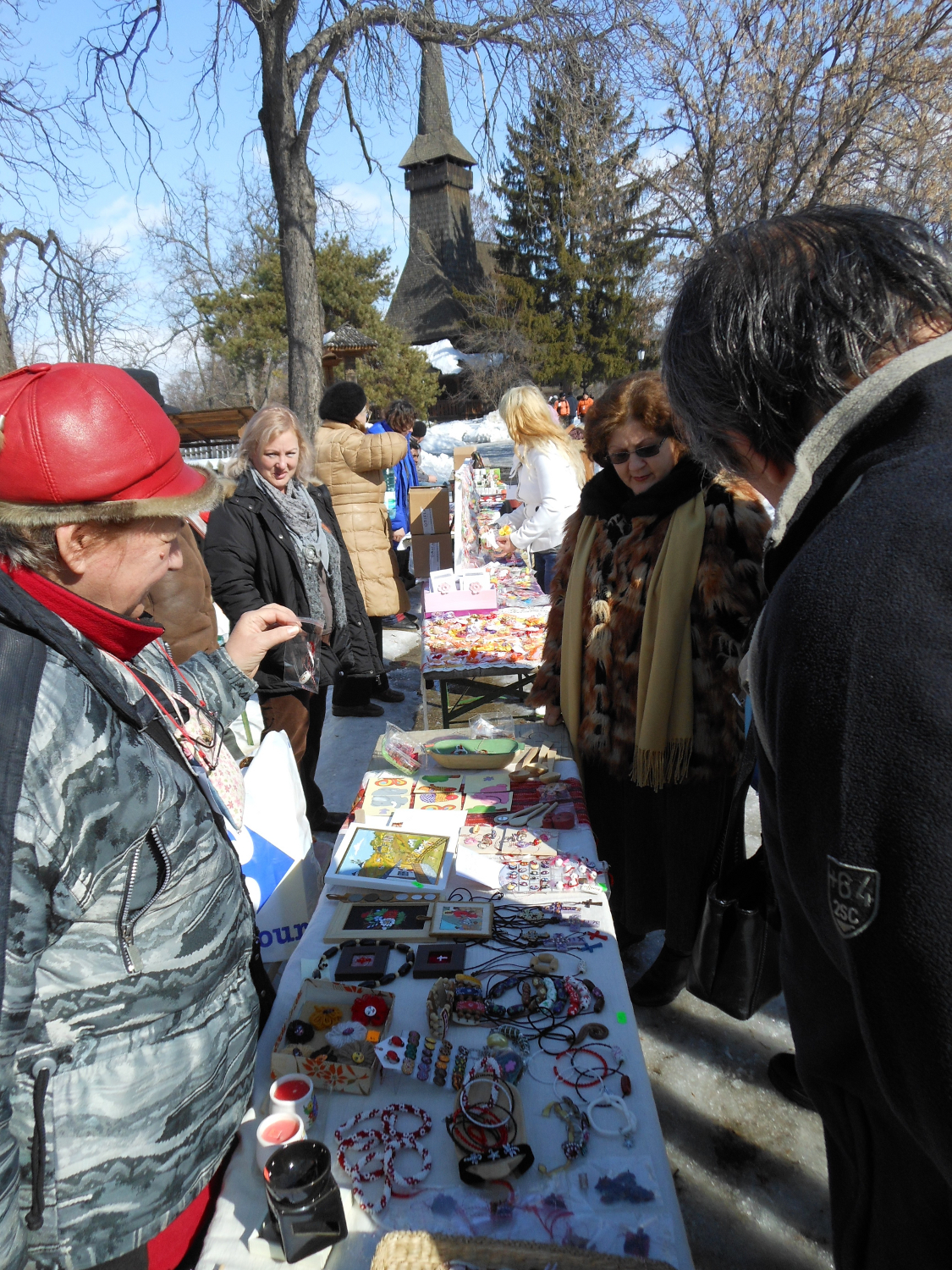 Romanian Traditional trinkets fair