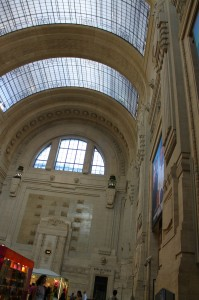 Milan central Train Station - interior 3