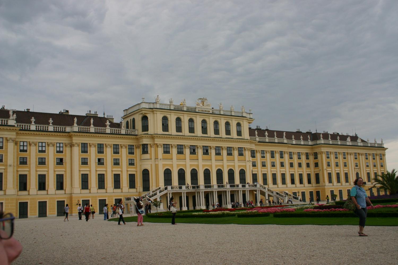Schoenbrunn Palace, Vienna, back