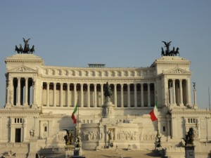 Rome - The Victor Emmanuel II monument