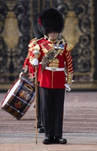 London changing guard