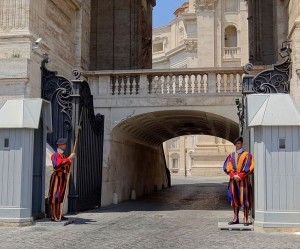 Vatican Swiss Guard 2012