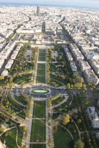 Paris seen from the Eiffel Tower 3