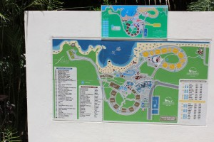 Grad Sirenis resort map