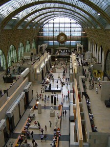 Musee d'Orsay - interiour