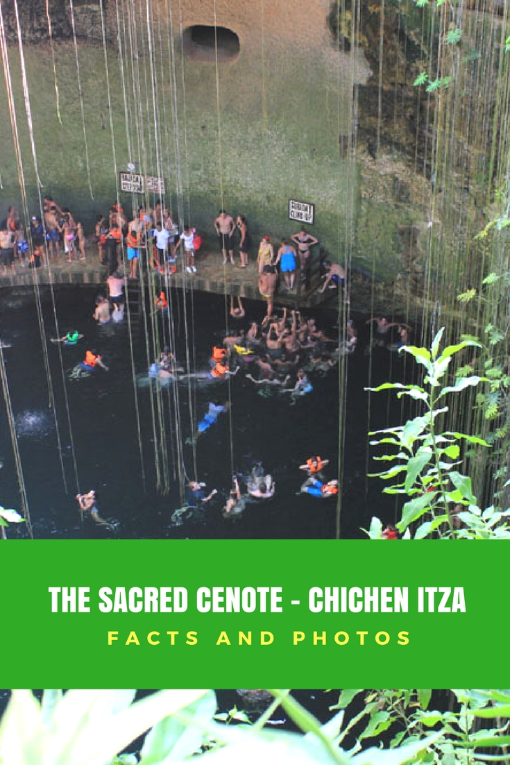 The Sacred Cenote - Chichen Itza, Yucatan, Mexico - important facts and photos