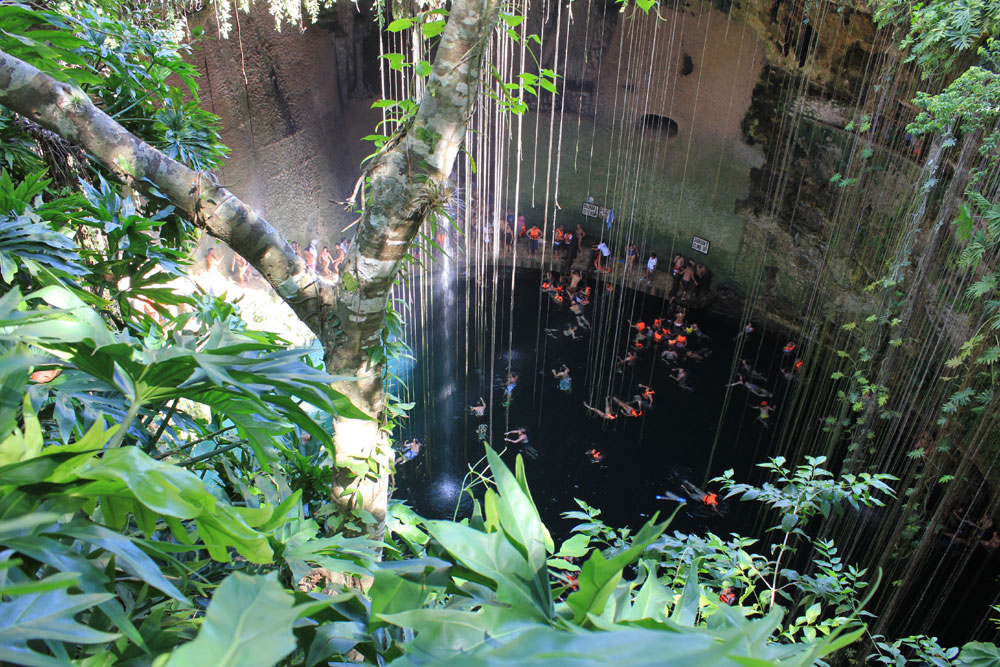 Chichen Itza Cenote 2