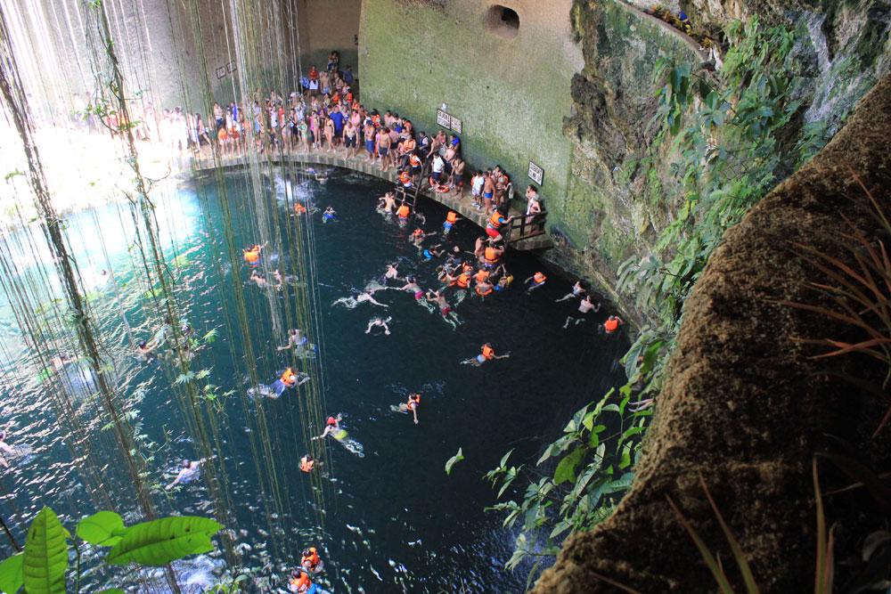 Chichen Itza Cenote 3